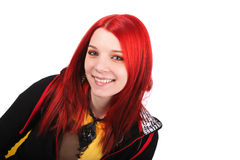 Beautiful red hair girl Royalty Free Stock Photos