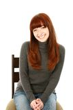 Beautiful red hair teen girl Royalty Free Stock Photo