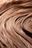 Beautiful red hair texture, closeup shot Stock Image
