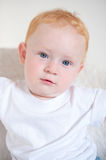 Beautiful red-haired boy Royalty Free Stock Image