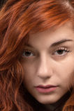 Beautiful red haired girl Royalty Free Stock Photo