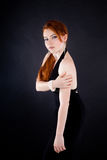 Beautiful red haired woman Royalty Free Stock Photos