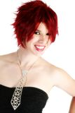 Beautiful Red Head Stock Photography