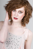 Beautiful Red Headed Teenage Girl Royalty Free Stock Photo