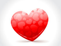 A beautiful red heart to love Stock Photography