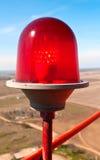 Beautiful red lantern Stock Images