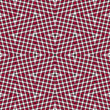 Beautiful red lines on a white background geometric background vector illustration Stock Photography