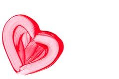 Beautiful red lip gloss. Stock Image