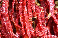 Beautiful red pepper background Stock Image