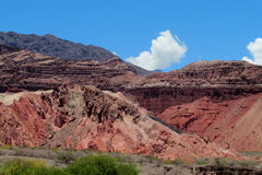 Beautiful red rock valley Royalty Free Stock Photos