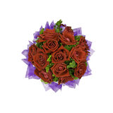 Beautiful red roses bouquet Royalty Free Stock Photography