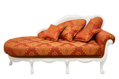 Beautiful red sofa Royalty Free Stock Photo