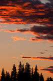 Beautiful red sunset Royalty Free Stock Photography