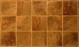 Beautiful Reddish Brown Tile. From a bathroom wall Royalty Free Stock Photography