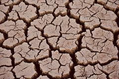 Reddish coloured isolated dried soil surface stock photograph stock images