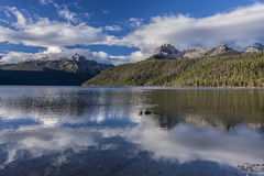 Beautiful Redfish Lake. Royalty Free Stock Photography