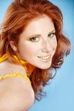 Beautiful redhead Stock Photos