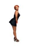 Beautiful Redhead, Full-length Royalty Free Stock Photography
