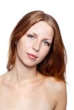 Beautiful redhead girl Royalty Free Stock Photo