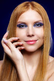 Beautiful redhead girl Royalty Free Stock Photography