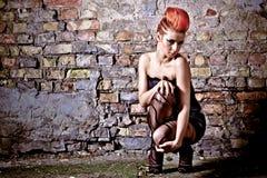 Beautiful redhead Girl Royalty Free Stock Photos
