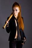 Beautiful redhead girl Stock Photography