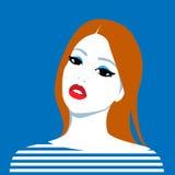 Beautiful redhead girl Royalty Free Stock Photography
