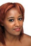 Beautiful Redhead, Headshot Stock Photos