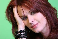 Beautiful Redhead Portrait  Royalty Free Stock Photos