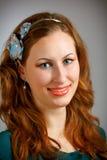 Beautiful redhead portrait Stock Photography
