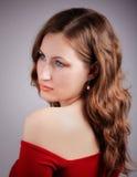 Beautiful redhead portrait Stock Images