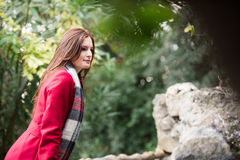 Beautiful Redhead Portrait Royalty Free Stock Image