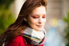 Beautiful Redhead Portrait Stock Image