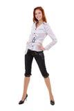 Beautiful redheaded girl Stock Image