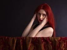 Beautiful redheaded woman Royalty Free Stock Photo