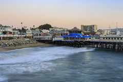 The beautiful Redondo Beach. Los Angeles, SEP 28: The beautiful Redondo Beach on SEP 28, 2014 at Los Angeles Royalty Free Stock Photos