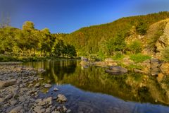 a mountain river Royalty Free Stock Photography