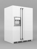 Beautiful refrigerator Royalty Free Stock Images