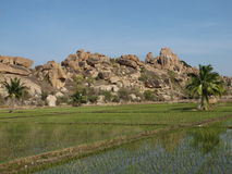 Beautiful region of Hampi, India Stock Photos