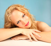 Beautiful Relaxed Woman royalty free stock photo