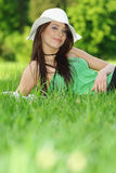 Beautiful relaxing outside Royalty Free Stock Images