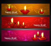 Beautiful religious bright colorful happy diwali h Royalty Free Stock Images