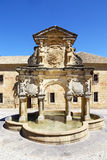 Beautiful Renaissance fountain in Baeza, Spain Royalty Free Stock Image