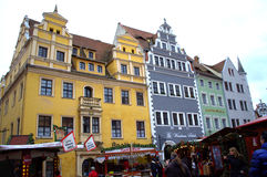 Beautiful renaissance houses Germany Stock Photo