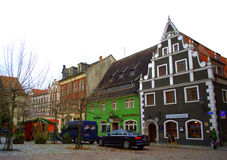 Beautiful renaissance houses Germany Royalty Free Stock Images