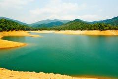 Beautiful reservoir Royalty Free Stock Photos