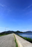Beautiful reservoirs in Thailand Royalty Free Stock Photos