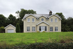 Beautiful residential country houses in Ireland Royalty Free Stock Photography
