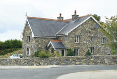 Beautiful residential country houses in Ireland Stock Photo