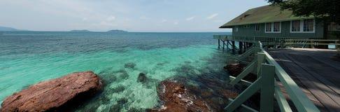 Beautiful resort Stock Image